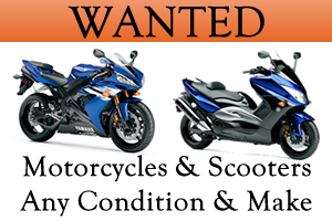 Wanted Scooters and Motorcycles